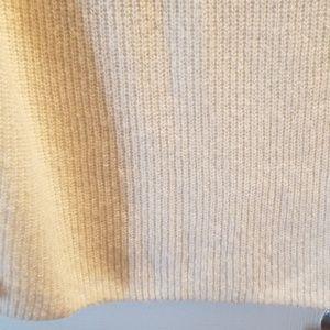 GAP Dresses - Gap white sweater dress